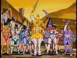 for your second heap of 90 s awesomeness let s take it back to 1992 for syndicated animated series king arthur and the knights of justice