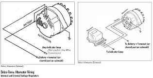 wiring diagram for alternator external voltage regulator delco remy 4 wire alternator wiring diagram jodebal com on wiring diagram for alternator external