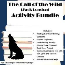 this comprehensive lesson plan includes daily lessons  the call of the wild activity bundle jack london pdf
