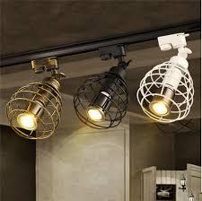 industriële track led spots kleding bar cafe tentoonstelling schoen spotlight lumiere sur rail lampara riel