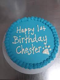 Dog Birthday Cake Local Pickup Only Etsy