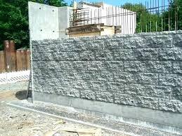 decorative masonry block stamped concrete wall knee wall stamped concrete retaining wall stamped concrete wall decorative