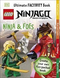 LEGO NINJAGO Ninja & Foes Ultimate Factivity Book : Grange, Emma, Peet,  Rosie: Amazon.de: Bücher