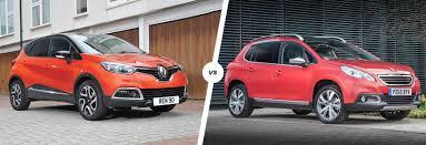 Renault Captur vs Peugeot 2008 comparison   carwow