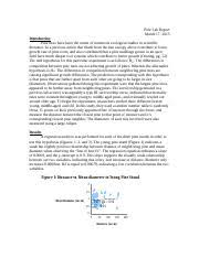 biol ecology kennesaw page course hero 3 pages ecology pine semi lab report
