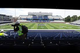 Foreman Field Seating Chart Old Dominions Reconstructed Football Stadium Nearly Ready