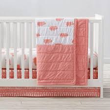 pink pig crib bedding and quilt