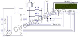 real time clock alarm using arduino schematics