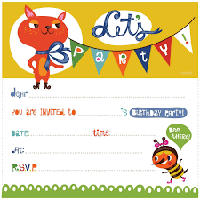 free printable birthday invitation cards for s