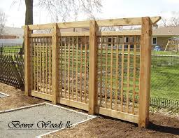 Small Picture garden lattice ideas Bower Woods llc Custom Garden Structures