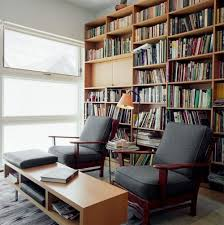 Beautiful Reading Room Furniture Workspace And Reading Room With Hanging  Bookcases Design Home ...