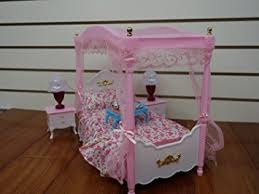 barbie dollhouse furniture sets. huaheng toys barbie size dollhouse furniture master bed room set sets