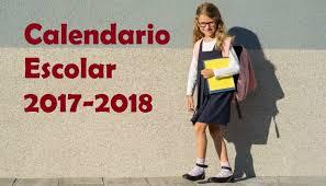 Resultado de imagen de calendario escolar 2017-2018 castilla y leon