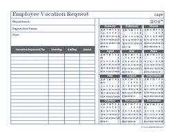 Holiday Calendar Template Delectable Vacation Request Form 48 Erkaljonathandedecker