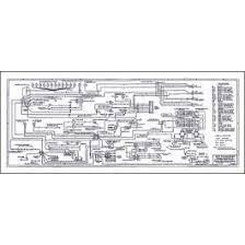 ford ford 1957 ford thunderbird wiring diagram large 34 x 14 1957 ford thunderbird wiring diagram large 34 x 14 foldout