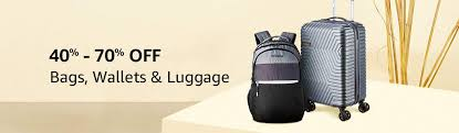 Bags   Luggage   40% -70% off