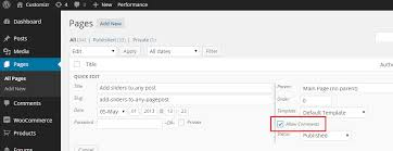 How to enable comments in pages in the Hueman Wordpress theme ...