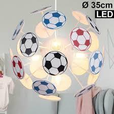 Leuchte Hänge Fußball Led Kugel Pendel Strahler Decken Lampe