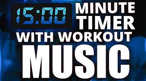 Ten Minutes Countdown 15 Minute Countdown Timer With Workout Music Youtube