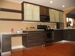 italian kitchen furniture. Simple Italian Kitchen With Brown Cabinet And Wood Flooring Also Using Shelf Furniture