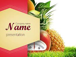 Food Presentation Template Diet Food Presentation Template For Powerpoint And Keynote
