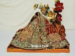 Saree Tray Decoration Pack Trousseau Packing View Specifications Details of Gift 11