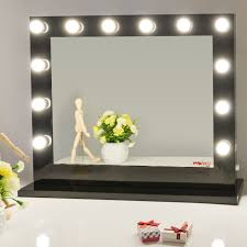 makeup vanity with led lights. details for black vanity mirror with led lights dressing table makeup led