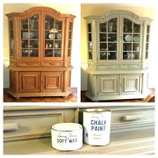 repaint china cabinet china cabinet chalk paint makeover refinish dining room china cabinet