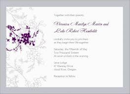 Microsoft Word Wedding Invitation Invitation Card