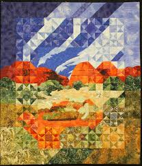 51 best Quilting Art of Jenny Bowker images on Pinterest | Quilt ... & Wind Over Katatjuta by Jenny Bowker. 2013 Canberra Quilters show  (Australia). Adamdwight.com