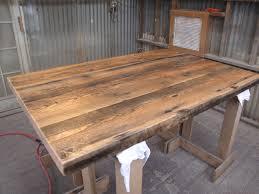 Floor Tables Old Growth Doug Fir Floor Joists Reclaimed Wood Tables