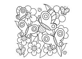 Kleurplaten Vlinders 26 Gratis Kleurplaten Voor Kinderen