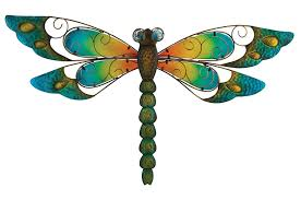 Dragonflies Wall Decor Amazoncom Regal Art Gift Dragonfly Wall Decor 29 Inch Blue