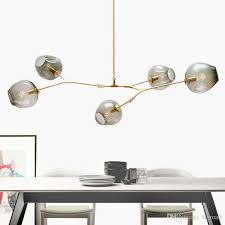lindsey adelman chandeliers lighting modern globe glass bubble pendant lamp natural tree branch suspension light hotel dinning room light lights hanging