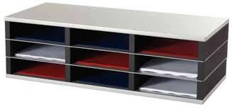 fast paper a literature organisers compartments postal supplies fast paper 9 compartment a4 literature organiser mf17001