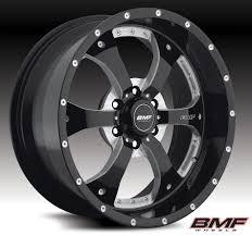 BMF Wheels Novakane Black 88-10 GM 1/2 Ton & 1995.5 Tacoma BMF ...