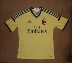 Ac milan jerseys and apparel available at soccerpro.com. Ac Milan Yellow International Club Soccer Fan Jerseys For Sale Ebay