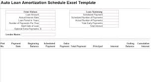 download amortization schedule auto loan amortization schedule excel template free crunch template