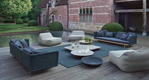 3 seater garden sofa sabi collection by paola lenti design francesco rota