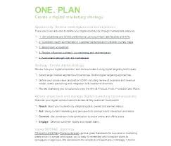 Digital Marketing Campaign Brief Template Report Example