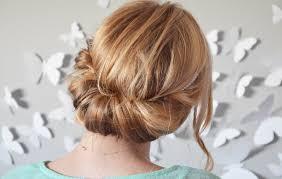 Beautiful Chignon Bas Cheveux Mi Long 2 Tuto Coiffure Soir E