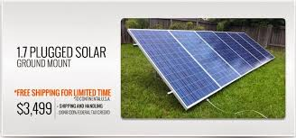 plug in solar panel kit that is truly diy