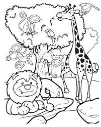 Safari Coloring Pages Safari Coloring Pages Coloring Pages Jungle