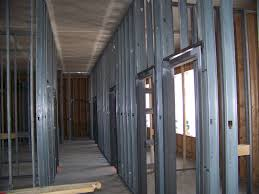 interior metal framing. Contemporary Interior Contractor To Contractor Installing Welded Hollow Metal Door Frames And Interior Framing K