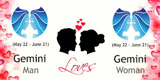 Gemini Love Chart Gemini Man And Gemini Woman Love Compatibility Ask Oracle