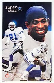 Encuentra fotos de stock perfectas e imágenes editoriales de noticias sobre deion sanders cowboys en getty images. Deion Sanders Superstar Dallas Cowboys Nfl Football Poster Costaco Sports Poster Warehouse