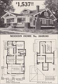 craftsman bungalow house plans.  Craftsman Sears Craftsmanstyle House  Modern Home 264B240 The Corona 1916 Bungalow  Plan For Craftsman Plans B