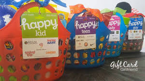 donate happy cards gift card baskets to your next auction giftcards