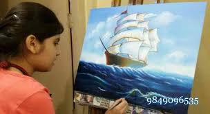 oil painting cl in hyderabad canvas painting cl in hyderabad hobby painting cl in hyderabad modern
