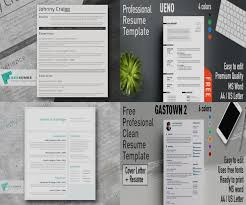 10 Professional Word Resume Templates To Download Alltemplatestore